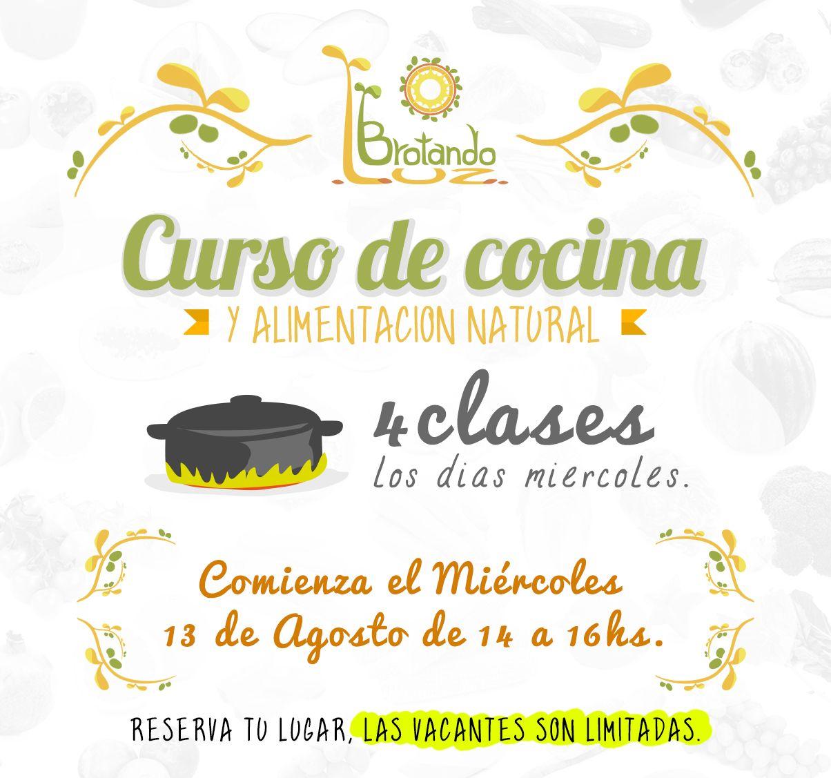 Curso de cocina saludable   curso de cocina   Pinterest   Cocina ...