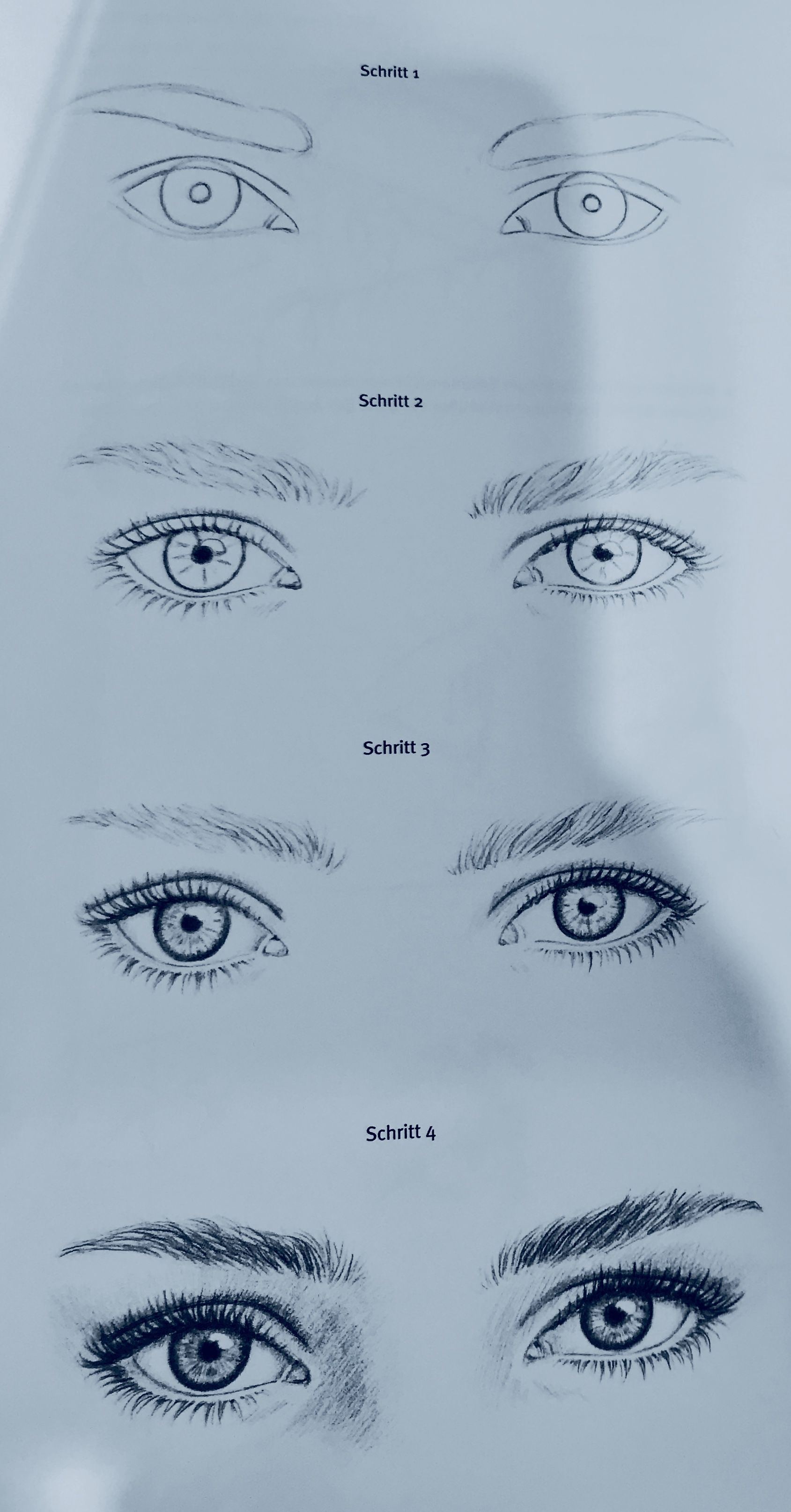 How To Draw Eyes Realistic Eye Drawing Realistic Drawings Sketches Tutorial