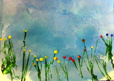 Creative Learning Landscape Art Project For Preschool