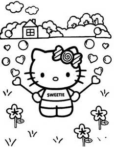 Hello Kitty Coloring Pages Bing Images Coloring Hello Kitty