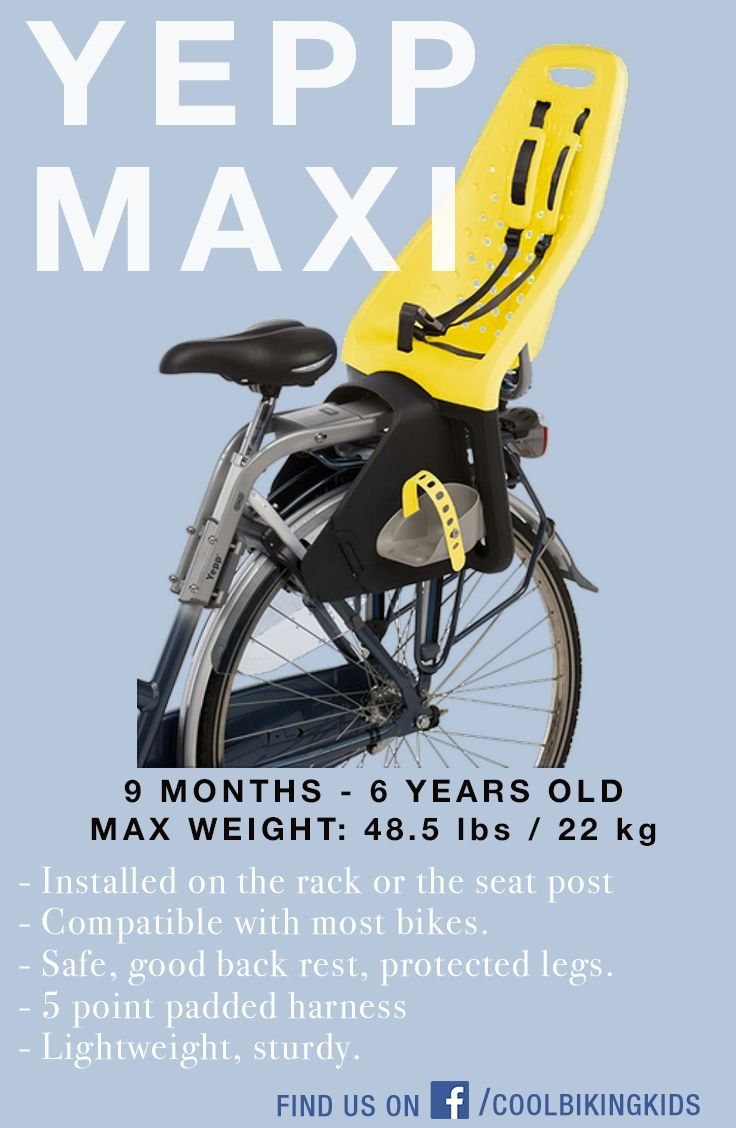 Yepp Maxi Rear Bicycle Child Carrier Review Child Bike Seat