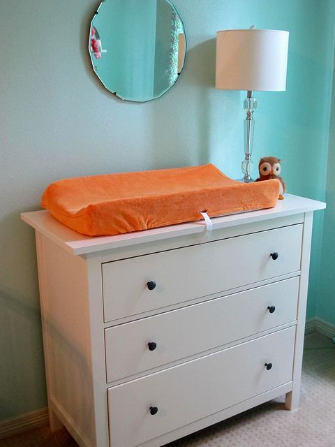 Ikea Grundtal Spice Rack Discontinued ~ Ikea Hemnes dresser as changing table  Nursery  Pinterest