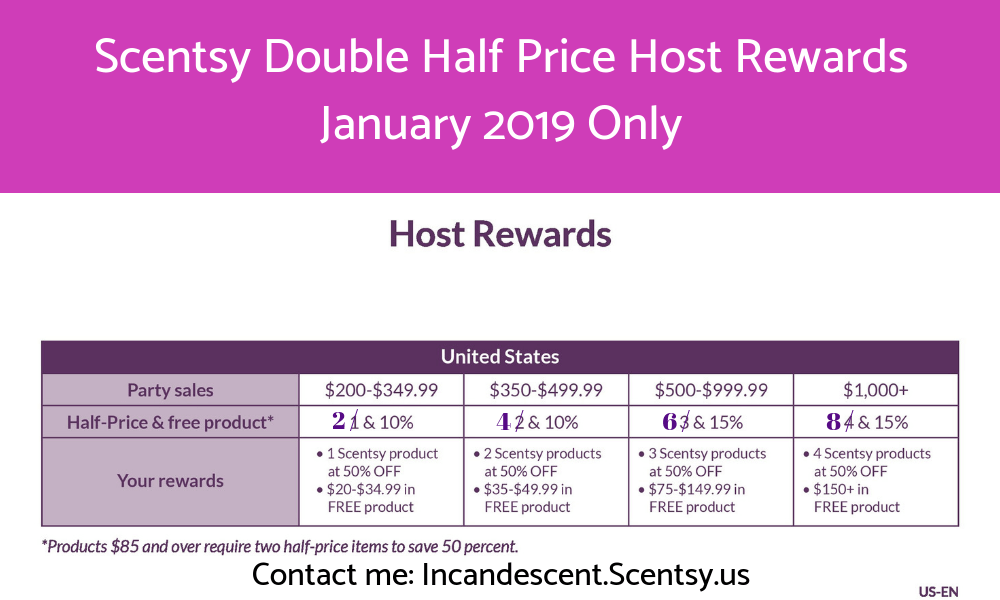 Scentsy Party January 2019 Double Half Price Host Rewards Scentsy Buy Online Scentsy Warmers And Scents I Scentsy Scentsy Party Scentsy Online Party