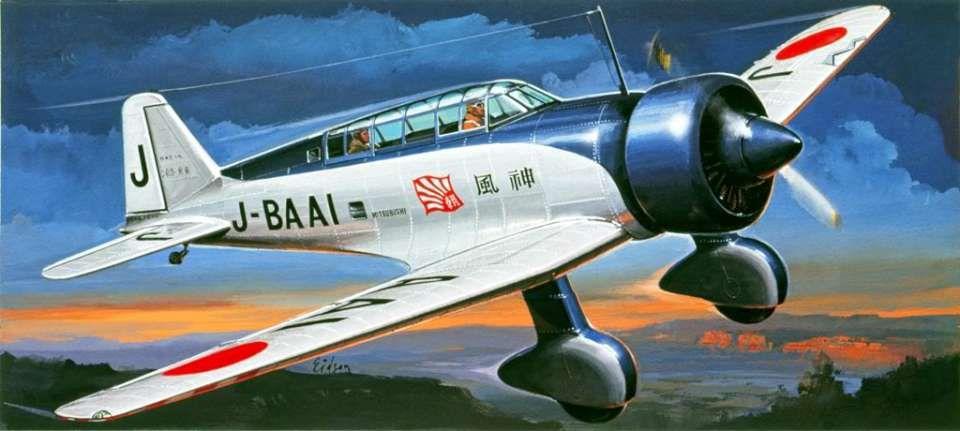 mitsubishi ki-15 / c5m фото