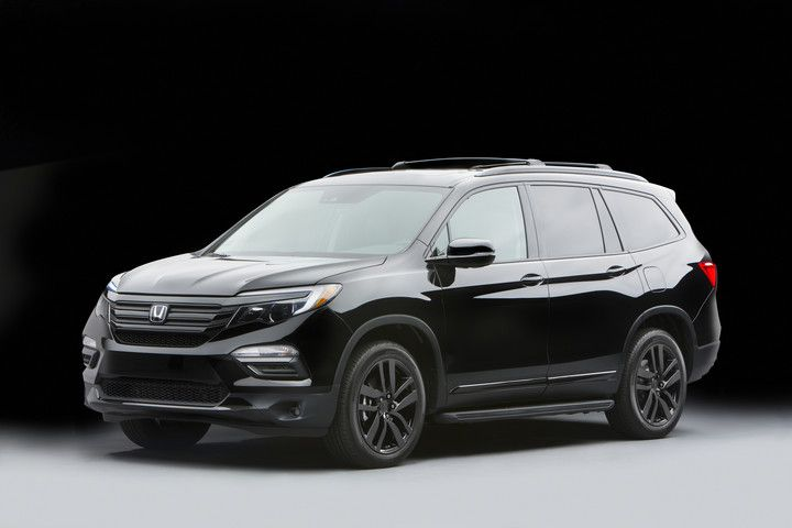 2016 Pilot Elite Concept Black Edition Highlighting Many Available Honda Genuine Accessories And Some Only In Concept For 2017 Honda Pilot Honda Pilot Honda