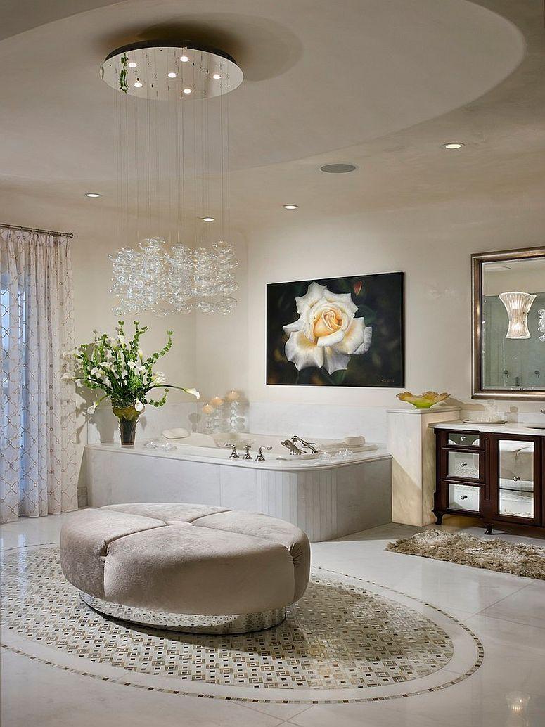 15 Ideen Für Moderne Badezimmer Kronleuchter