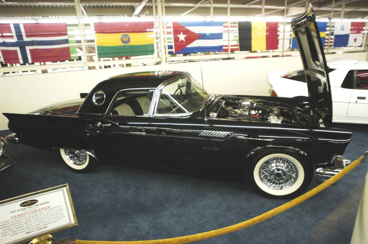 57 thunderbird pictures | At the time this photo was taken, the ...