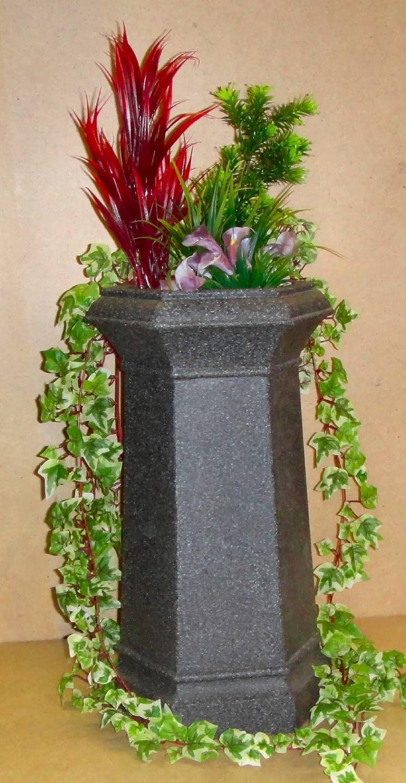 Chimney Pot Garden Planter Patio Flower Tub New Millstone Colour ...