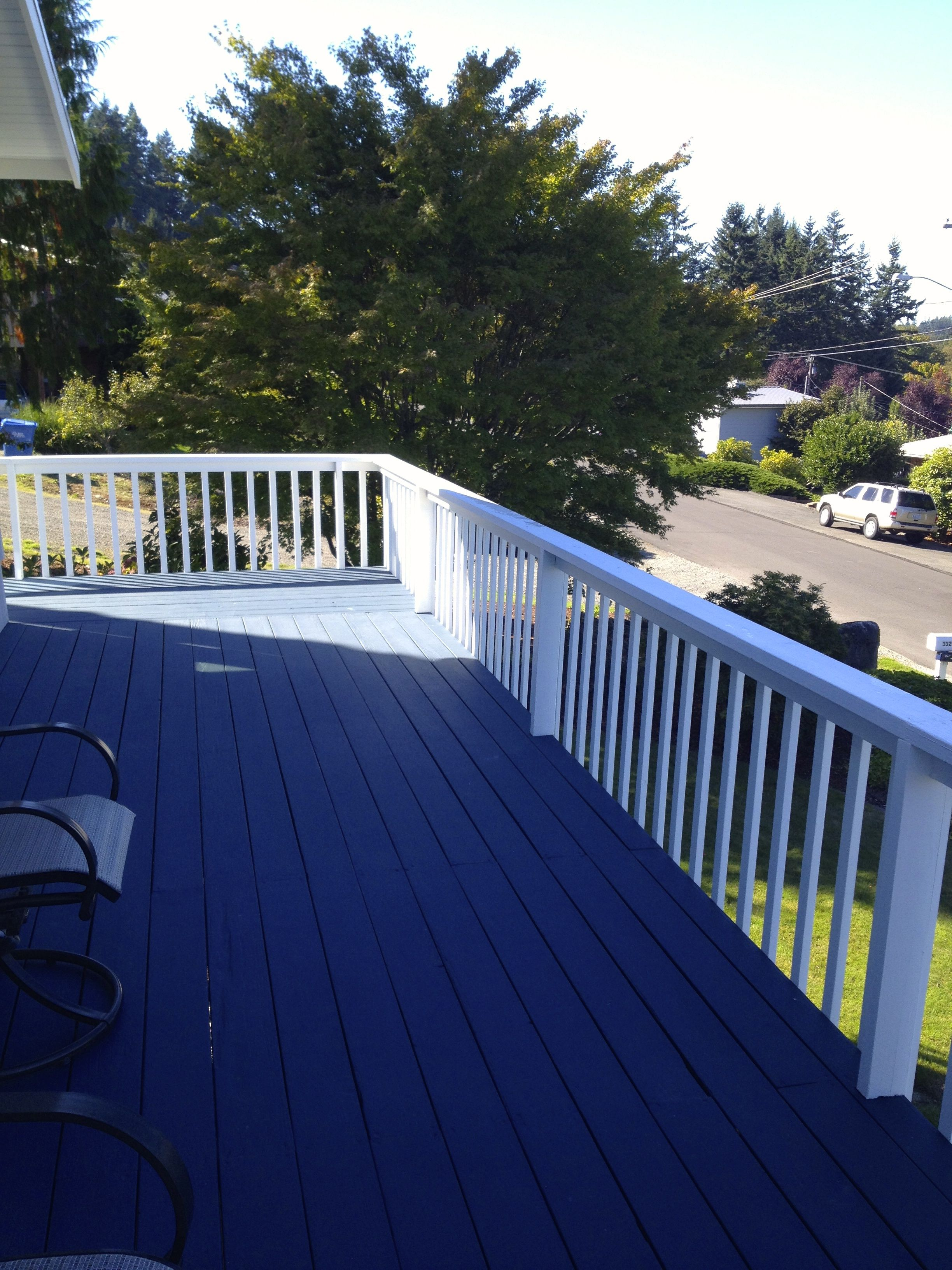 The Finished Deck Using Deck Over Color Atlantic Deck