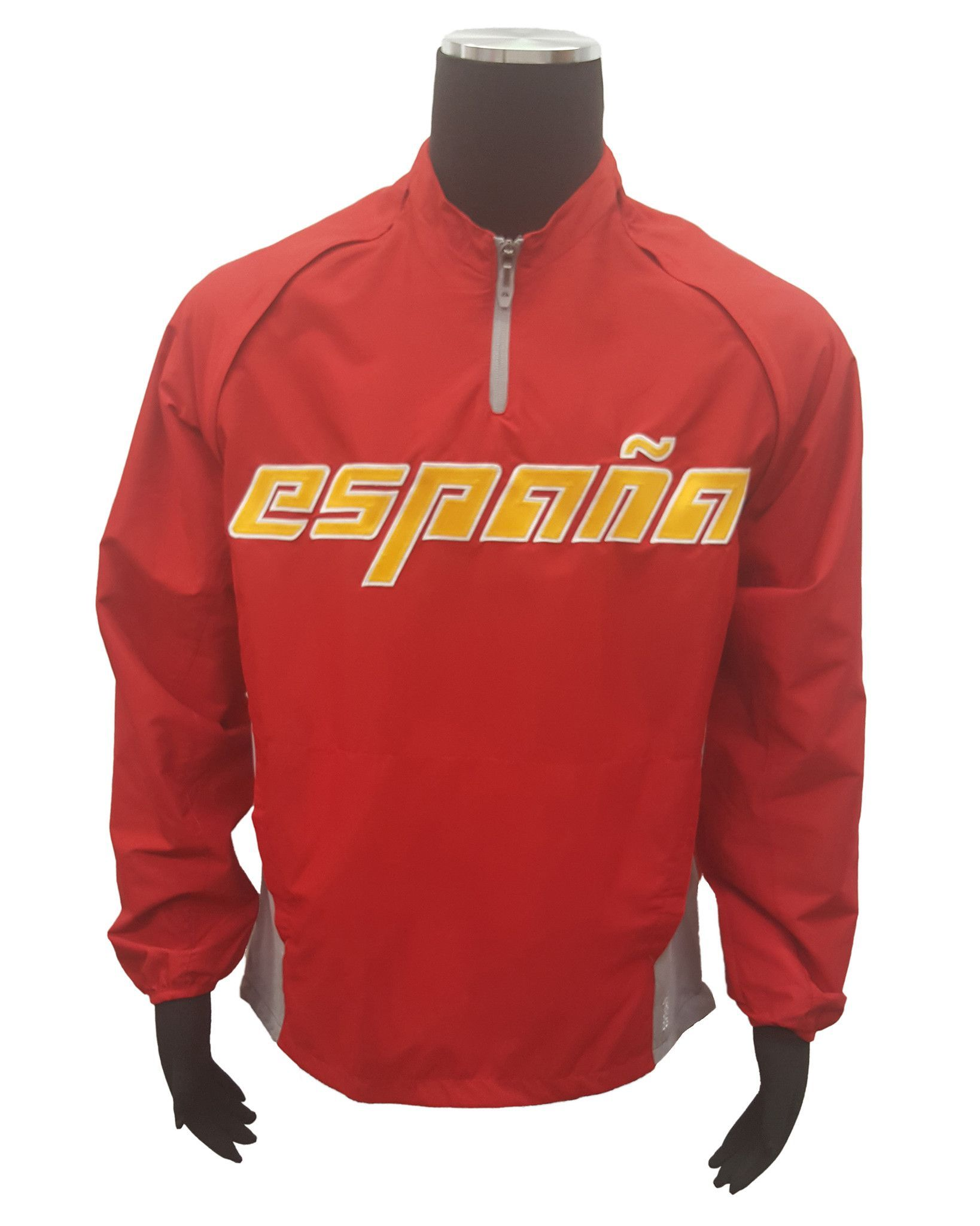 Majestic Spain Espana WBC Authentic Triple Peak Cool Base Gamer Jacket