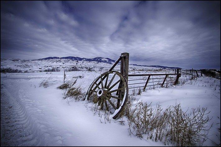 Montana Ranch by Gary Kurns, via Behance