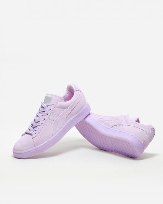 Puma Suede Classic Mono Ref Iced 362101 001 - Supplying girls with sneakers