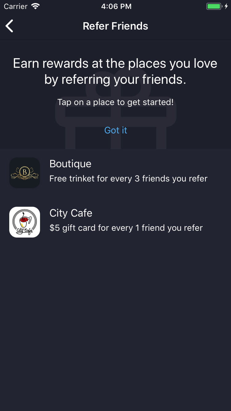 Grow your business through in app referrals! #referrals #loyalty ...