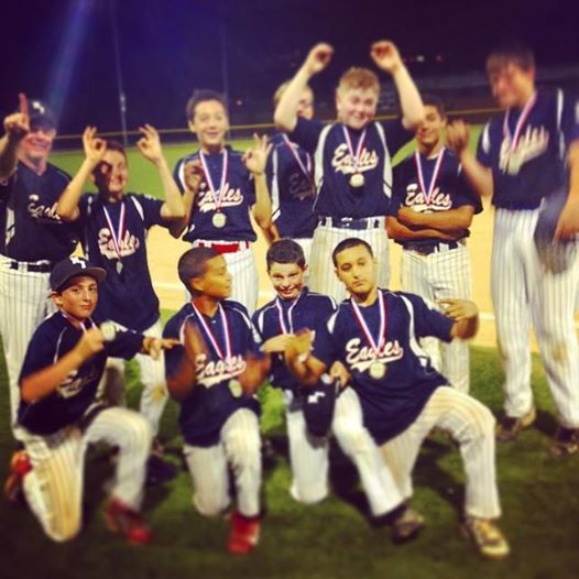 Congratulations To The 13u Eagles On Their 7 6 Walk Off Win Last Night Against A Very Tough Nj Juggernauts Team To Win The Baseball League Club Baseball League