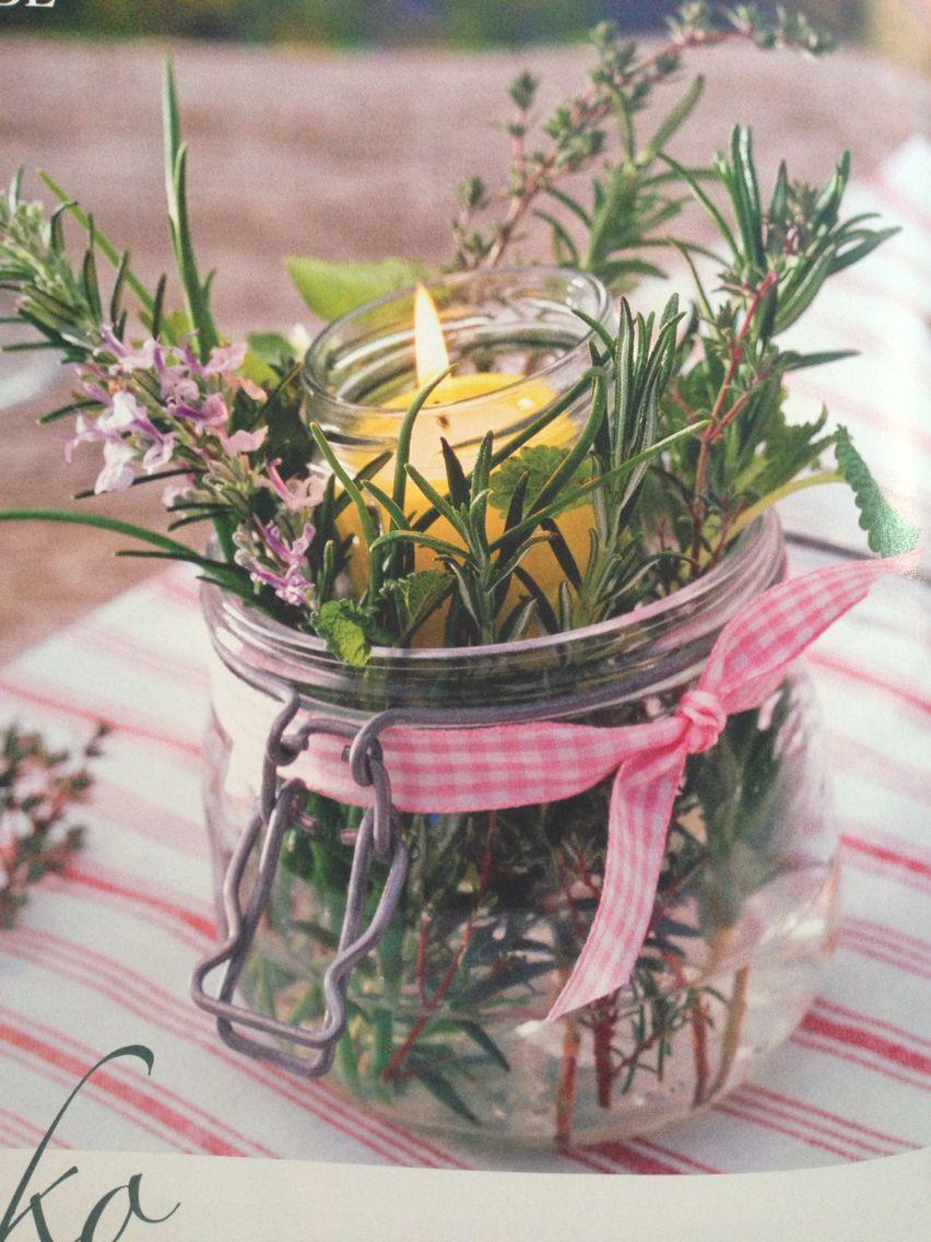 deko mit einmachglas gardening yard ideas centros de. Black Bedroom Furniture Sets. Home Design Ideas