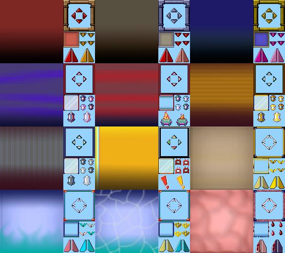 RPG Maker XP SPECIAL Window Skins INDEX Sprite Might
