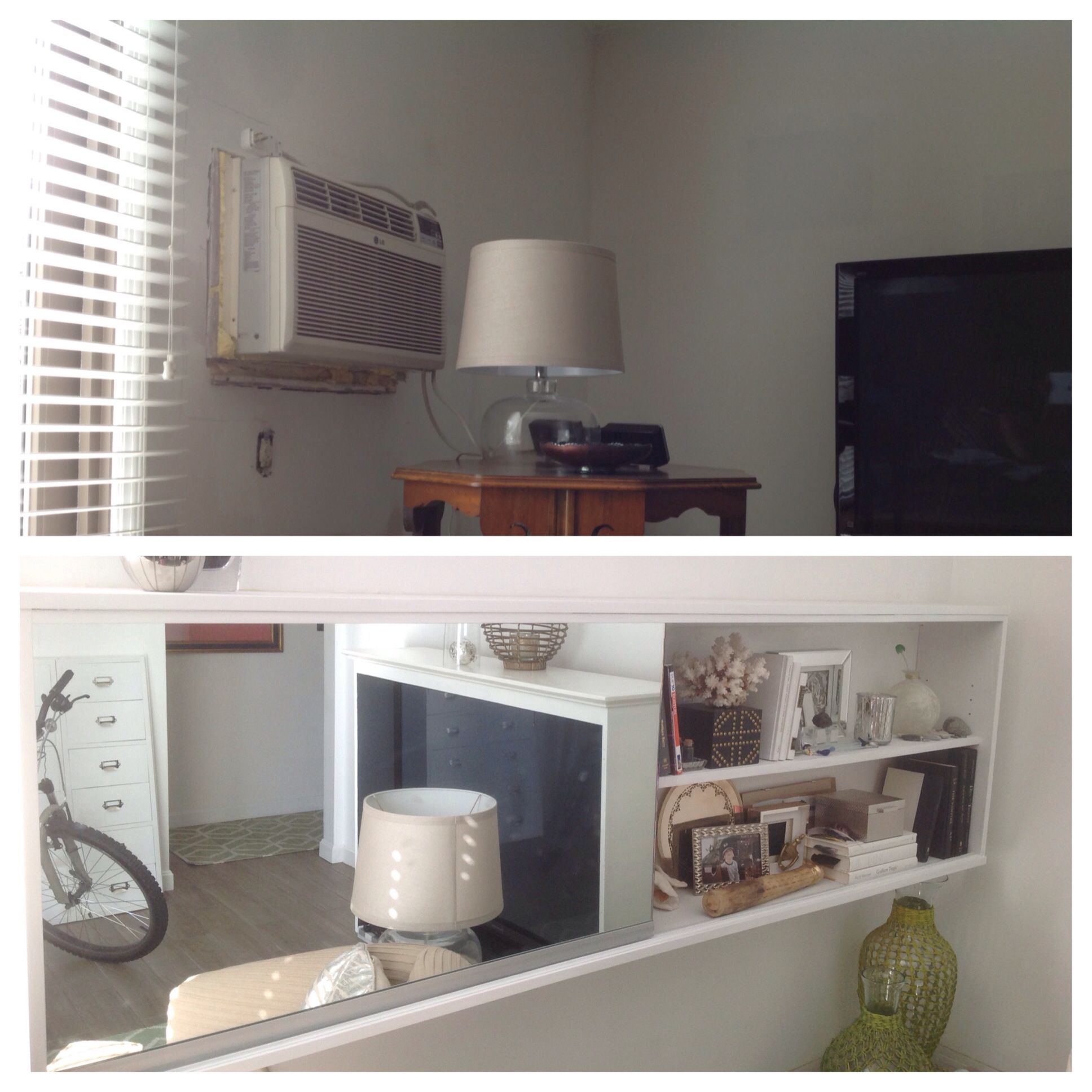 diy wall unit air conditioner cover | want to recreate | Pinterest ...