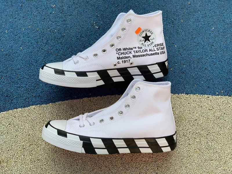 Off White Converse Chuck 70 Stripe White High Tops Shoes 163862c Pics Www Anpkick Com Converse High Top Shoes Shoes