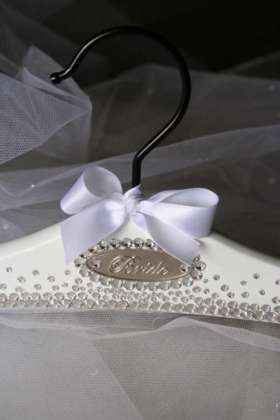 Bridal Hanger Wedding Dress Hanger Personalized by