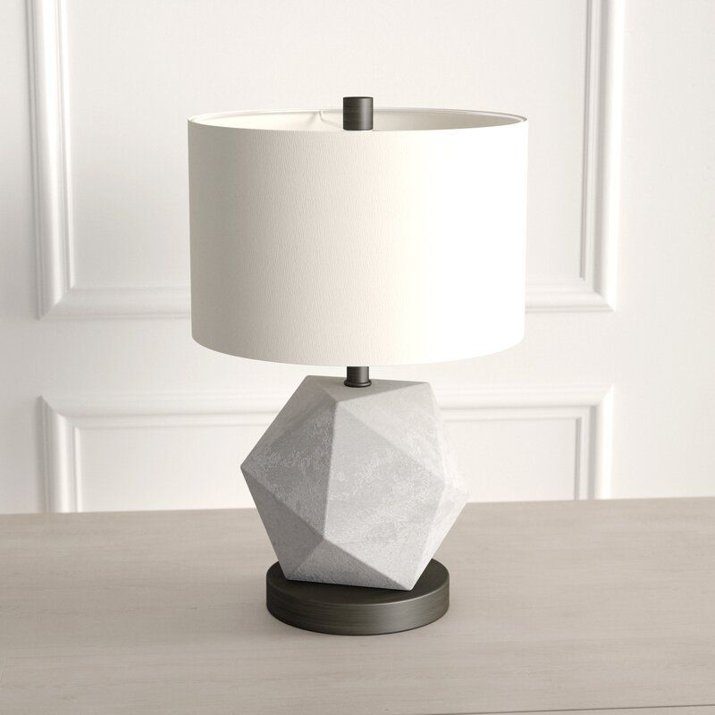 Kinchen 20 Table Lamp Reviews Joss Main Table Lamp Modern Nightstand Lamps Industrial Table Lamp
