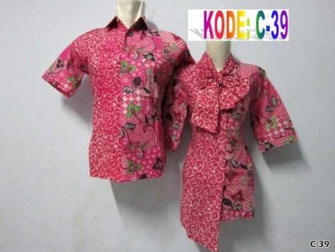 Baju Batik Sepasang