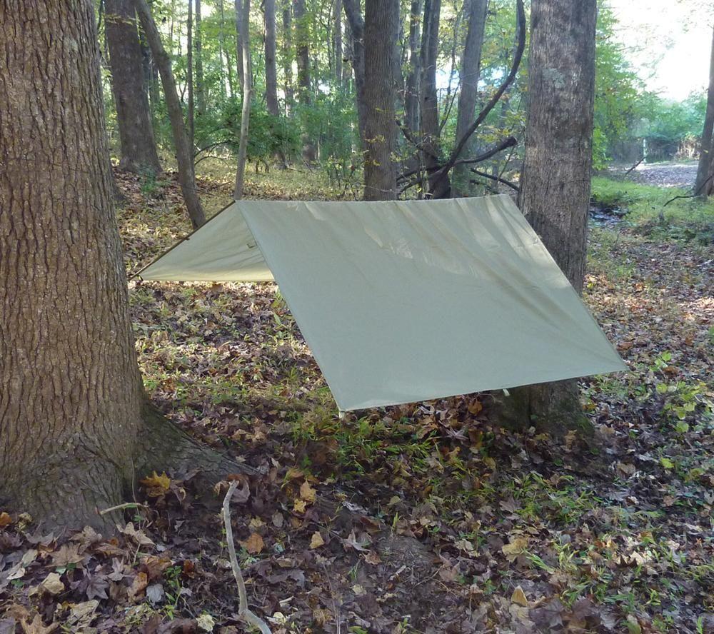 ultralight tarp, 60 in. x 84 in. ripstop nylon