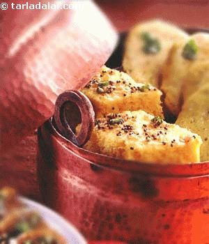 Nylon Khaman Dhokla ( Gujarati | Recipe | Recipes | Khaman ...