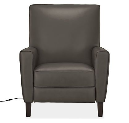 Best Harper Tall Back Leather Recliners Modern Recliners 400 x 300