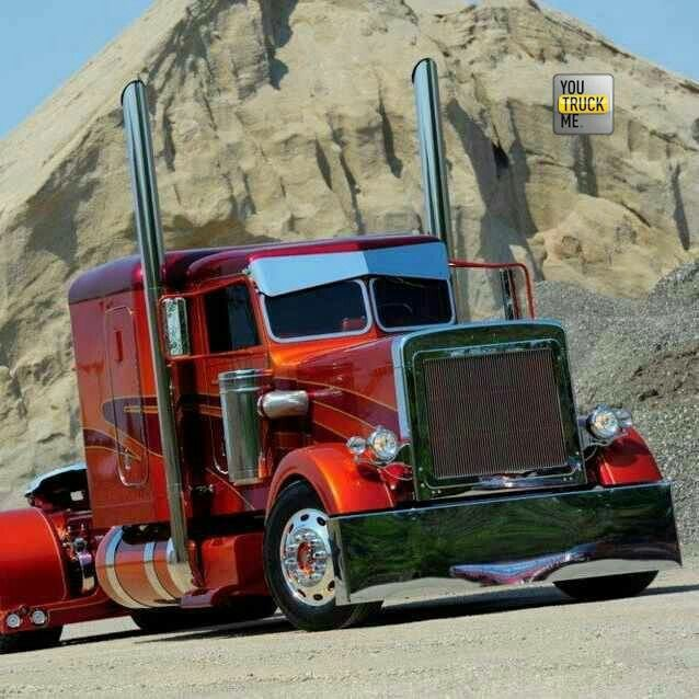 Beautiful Semi #You Truck Me