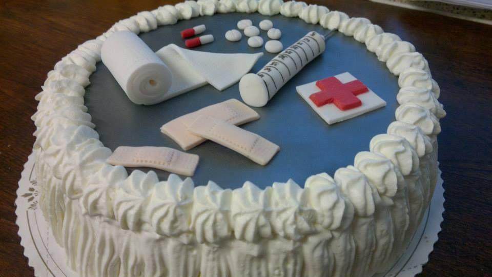 Sairaanhoitajalle kakku
