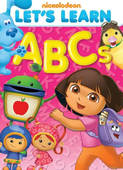 Nickelodeon Dvd Let S Learn Abcs Giveaway Learning Abc Abc Songs Nickelodeon