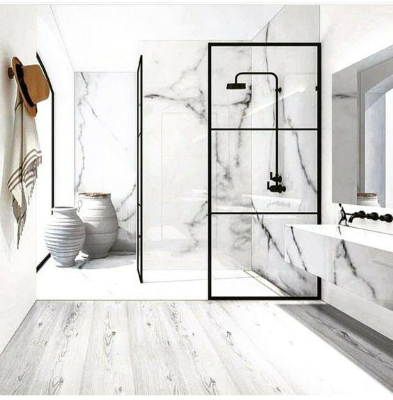 Pin by Stephanie Netzer on Bathrooms   White bathroom ...