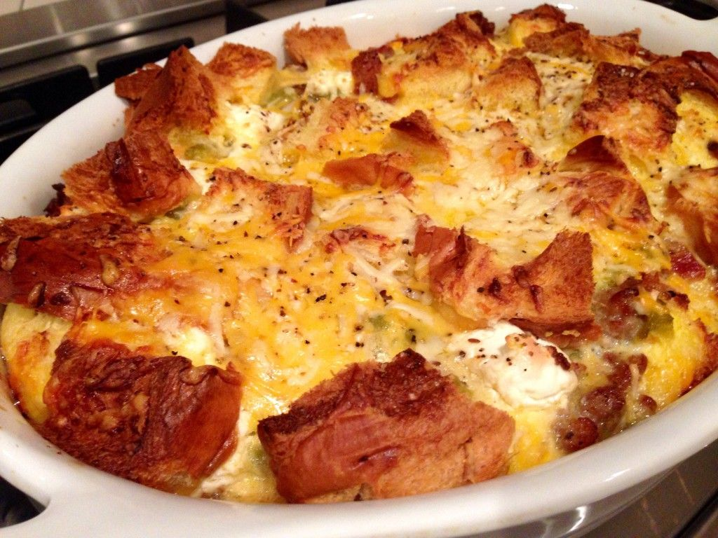 Big Country Breakfast Bread Pudding