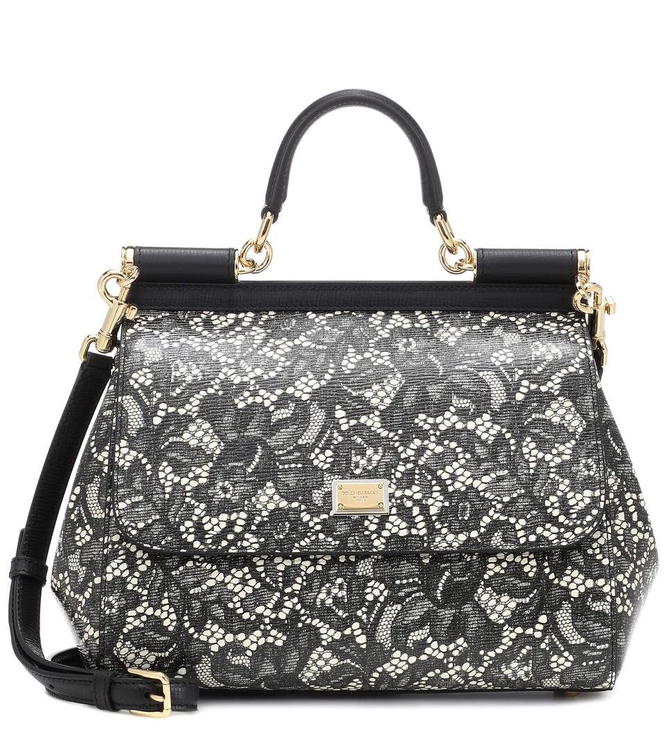 d9a28aa8a9b3 Dolce   Gabbana - Sicily Medium leather shoulder bag