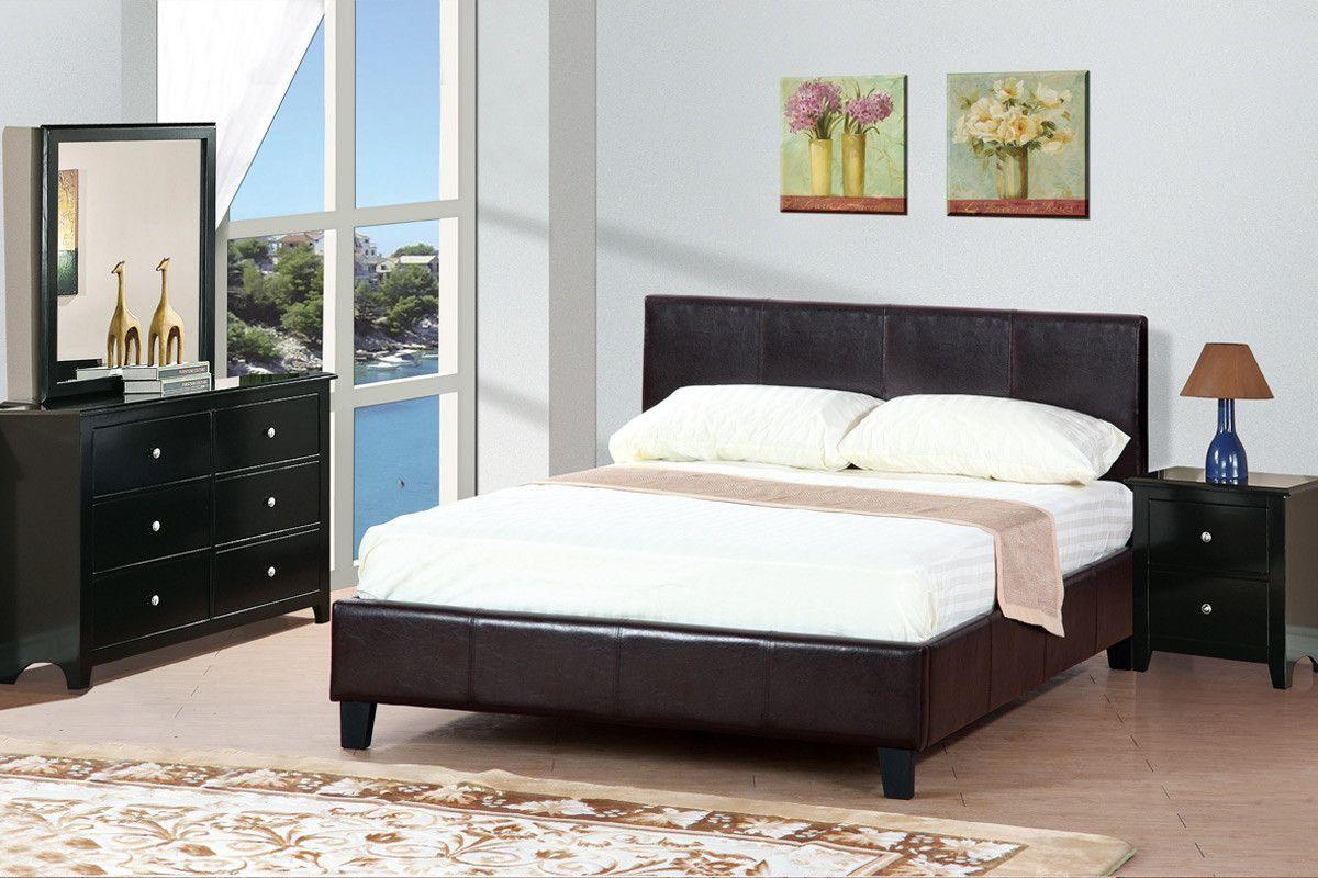 Poundex Queen Bedroom Set F9211 | My bedroom ideas | Pinterest