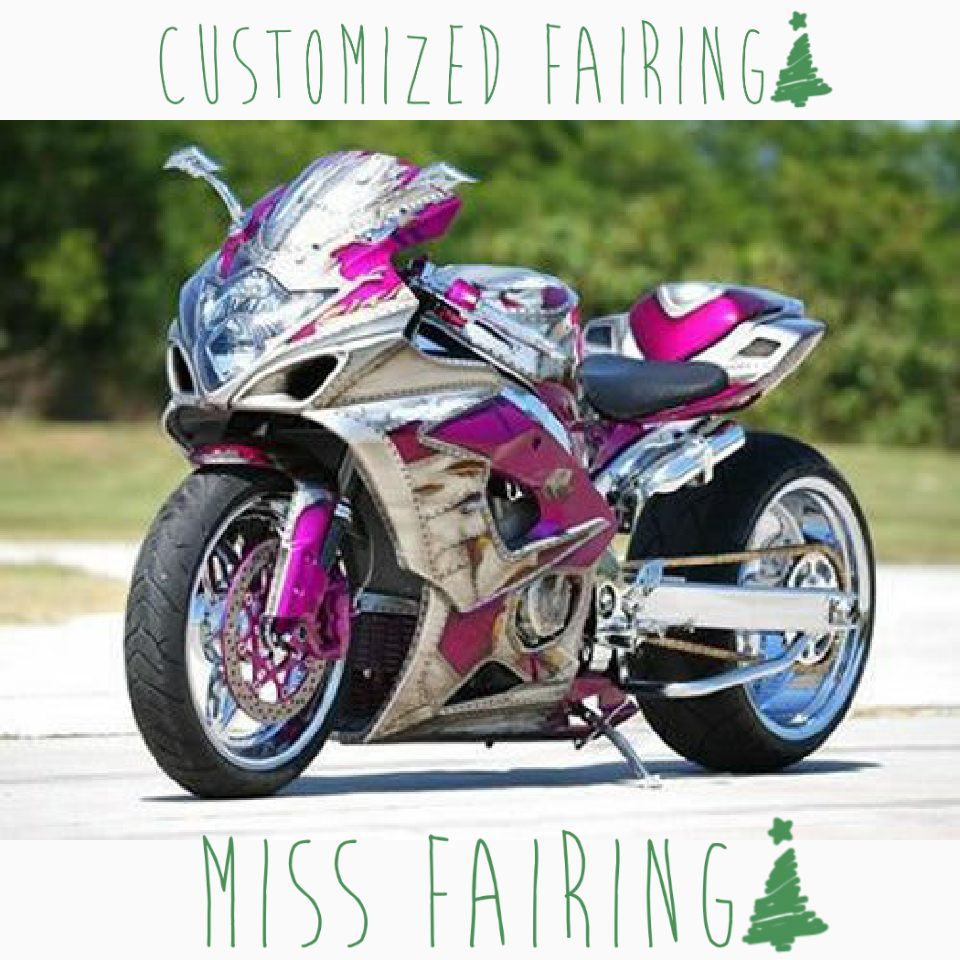 Miss Fairing Customized ABS Motorcycle Injection Fairing