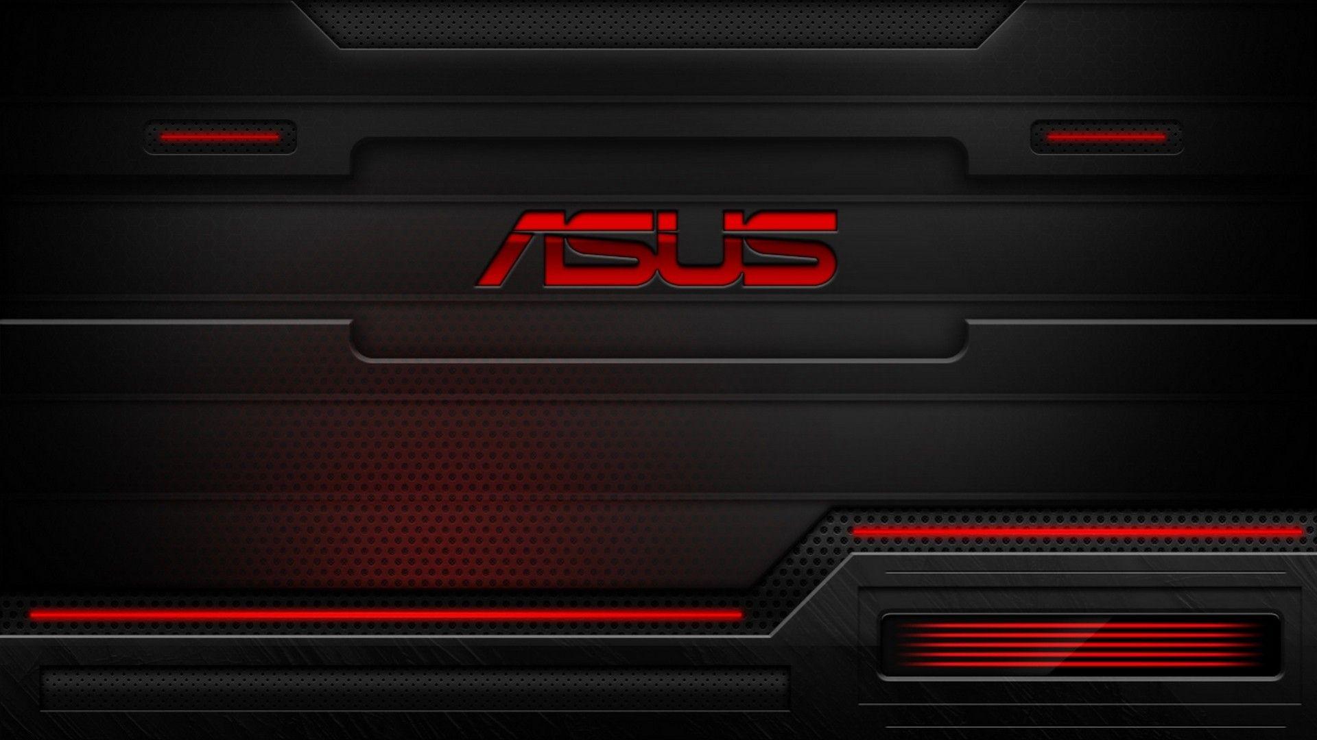 Asus Black and Red HD Wallpaper Hd wallpaper, Destop