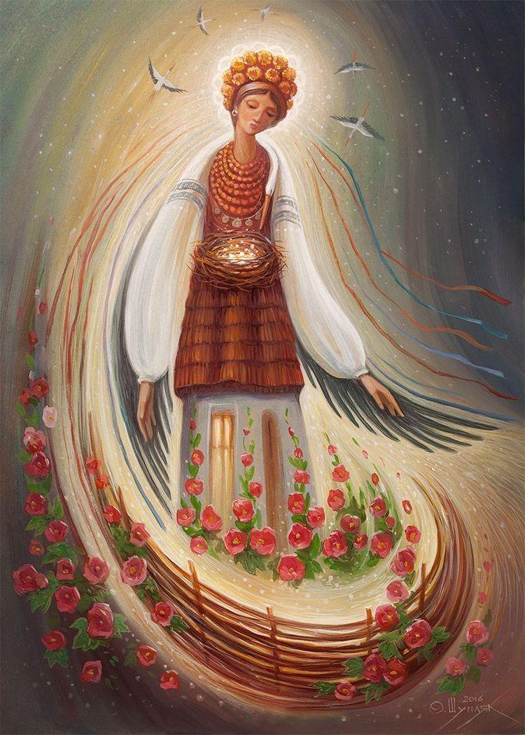 D0 B1 D0 B5 D1 80 D0 B5 D0 B3 D0 B8 D0 Bd D1 8f Russian Painting Russian Art Folk Art Oleg Shuplyak Ukrainian Art