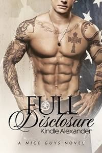 Full Disclosure, book 2 in the Nice Guys Series by Kindle Alexander