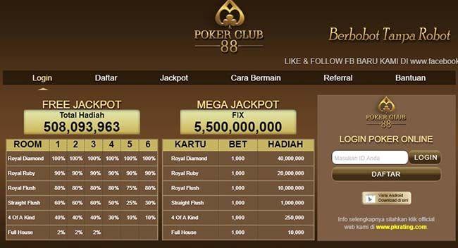 Sensasi Bermain Poker Online yang Berbeda di PokerClub88
