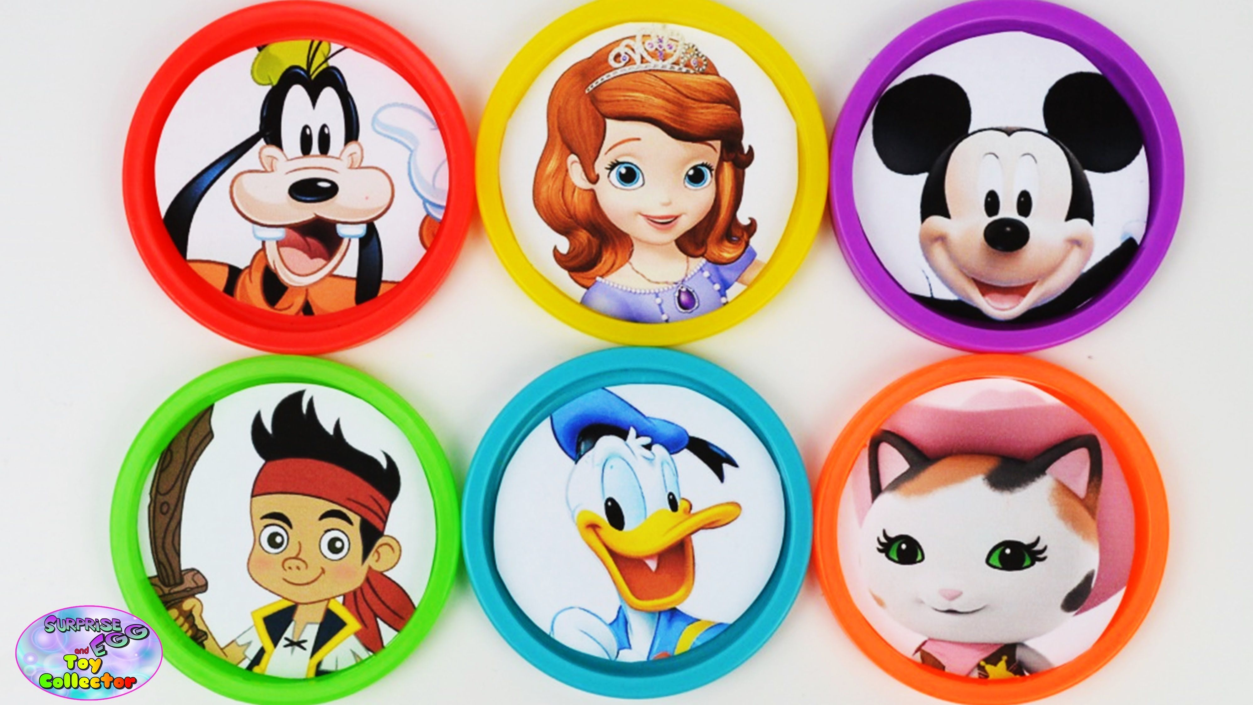 Learning Colors Disney Jr Junior Mickey Mouse Sheriff