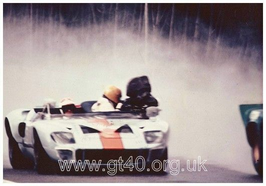 Gt40 Camera Car From Le Mans Heads To Auctio Hemmings Daily Le Mans Ford Gt Gt40