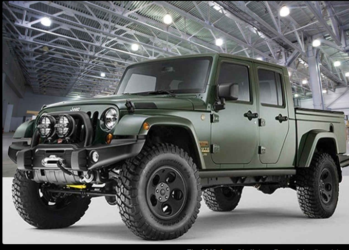 The 2018 Jeep Gladiator Offers Outstanding Style And Technology
