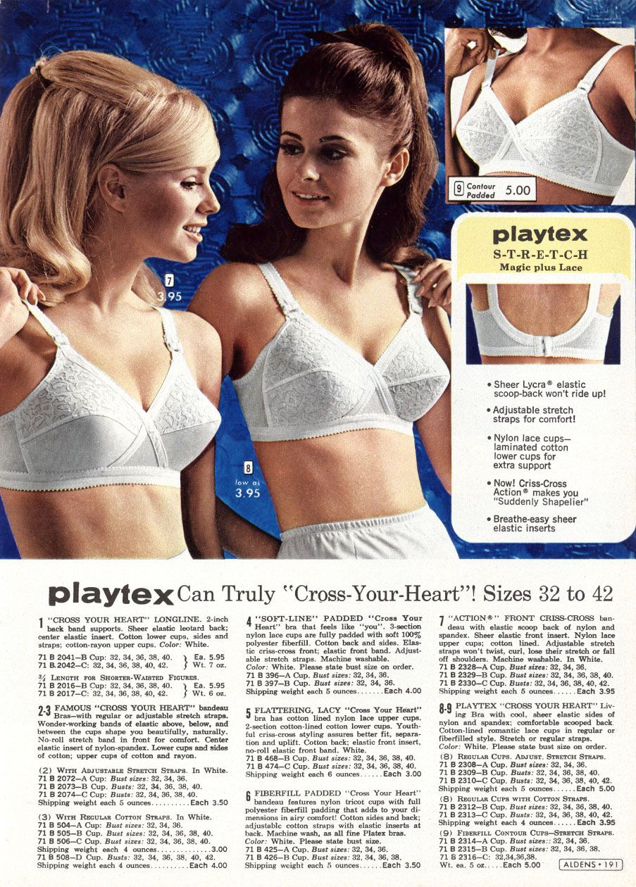 bbba5cf64fd Meredith. Playtex made all their bra