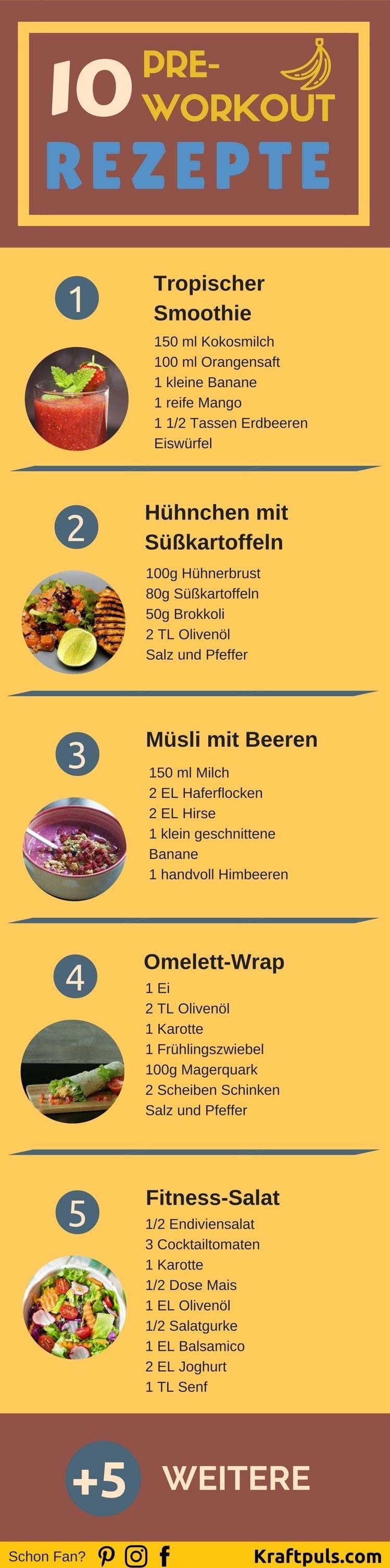 #ernährung #preworkout #training #ernhrung #richtige #optimale #fitness #deutsch #rezepte #sport #es...