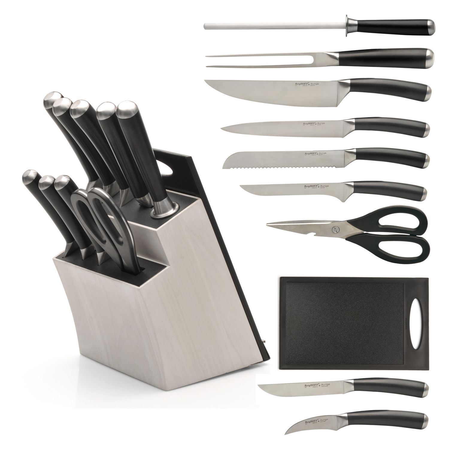 BergHOFF Auriga 11pc knife block