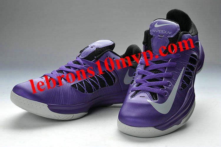 new products b95cc e7cf3 Nike Lunar Hyperdunk X Low 2012 Purple Black