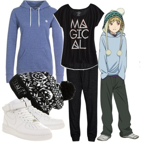 """""""Yukine"""" by theearlmustang on Polyvore   Fandom outfits ..."""