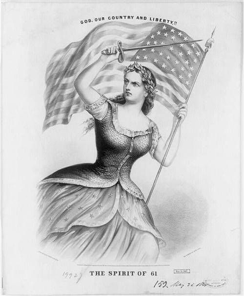 When America Was Female Columbia Civil Wars And History