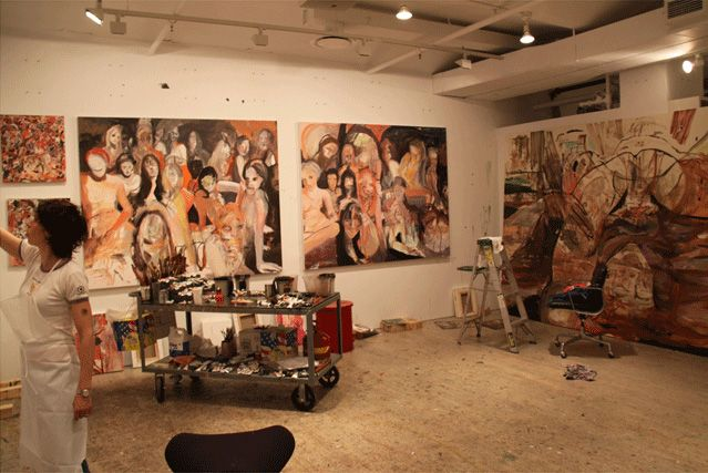 atelierlog: Cecily Brown #1